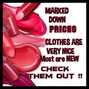 AMAZING PRICES ON VERY NICE CLOTHES ♥️♥️